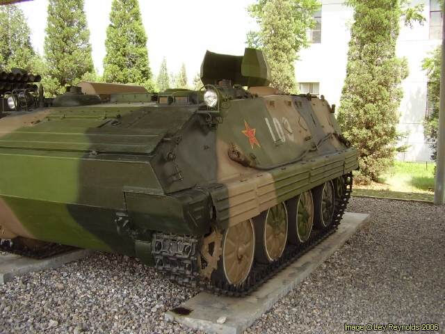 PLA Type 63 Tracked Armoured Personnel Carrier | Australian Military